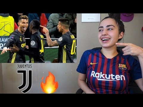 BARCA FAN REACTS TO CRISTIANO RONALDO ALL 28 GOALS FOR JUVENTUS 2018/19