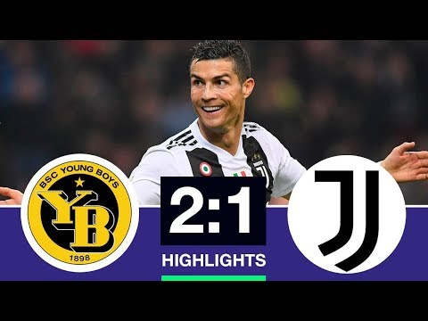 Juventus vs Young boys All Goad & Highlight 2018
