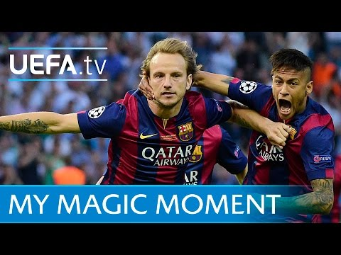 Ivan Rakitić 2015 Champions League final goal: Barcelona v Juventus