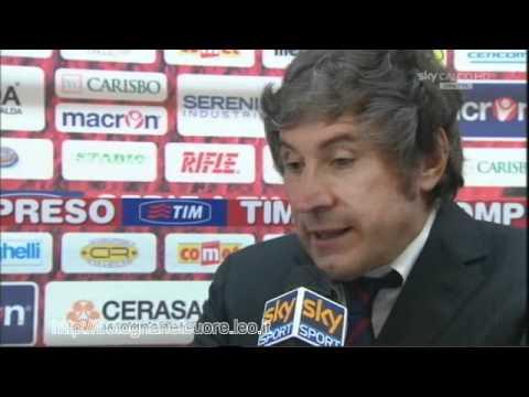 Bologna FC 1909 – Juventus 0-0 24/10/2010 Malesani intervista Sky