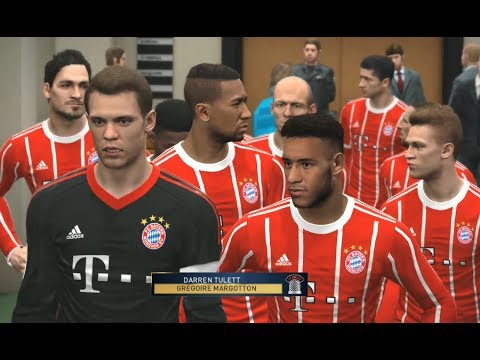 [PC] Bayern Munich vs Juventus – Gameplay Nouveaux Maillots 2018 PES 2017
