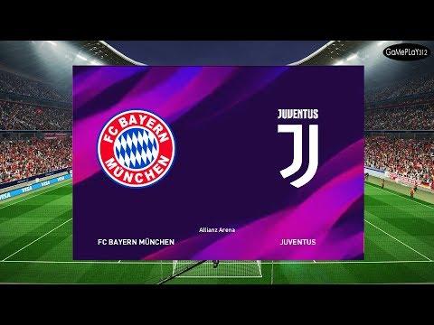 Bayern Munich vs Juventus – Full Match – eFootball PES 2020 Graphic For PES 2019