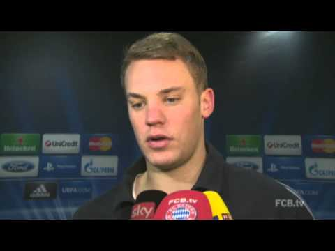 Bayern Munich vs Juventus – Muller & Neuer post-match interviews