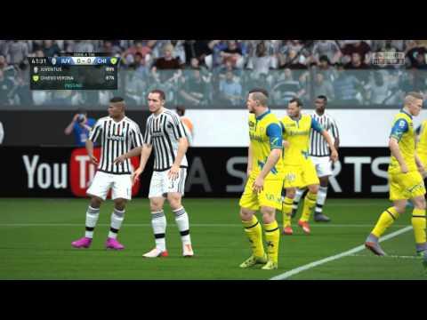 FIFA 16 – Juventus vs. Chievo Serie A