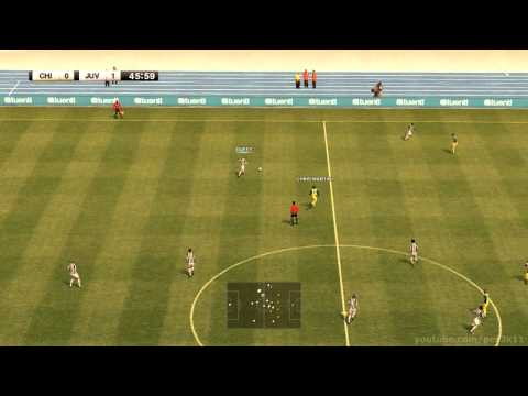 PES 2012 – Gameplay – Liga Master – 102 – JUVENTUS vs CHIEVO VERONA
