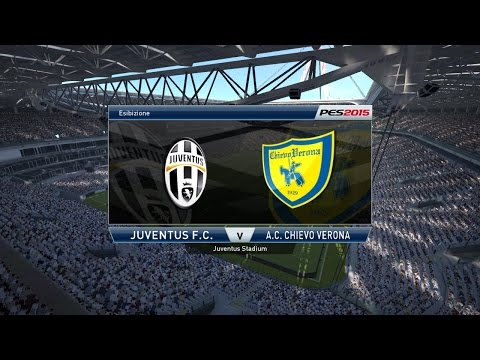 Pes 2015-Juventus Vs Chievo Verona Pronostico Del 12/09/2015 Serie A TiM 2015/2016 ITA HD