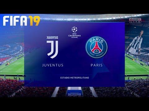 "FIFA 19 – Juventus vs. Paris Saint Germain ""Champions League Final"" (Opening Match)"