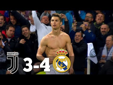 Real Madrid Vs Juventus 4-3  All Goals & Highlights 2018 HD