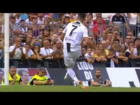 Ronaldo scores on Juventus debut vs Juventus B – pay attention to the first touch and finish