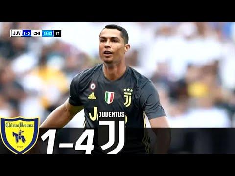 Juventus Vs Chievo 4-1 – All Goals & Extended Highlights RÉSUMÉ & GOLES ( Last Matches ) HD