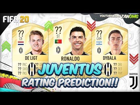 FIFA 20 | PIEMONTE CALCIO (JUVENTUS)  PLAYERS RATING PREDICTION!! | FT. RONALDO, DE LIGT, DYBALA…