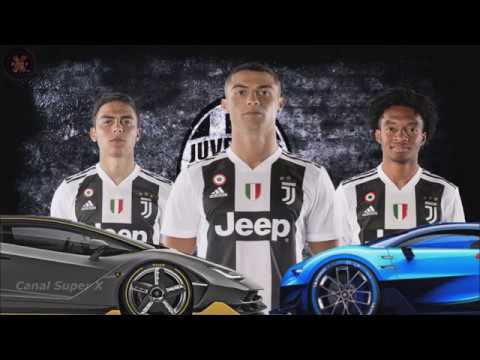 Carros dos Jogadores da Juventus ★Juventus players and their cars