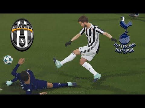 "Juventus vs Tottenham – UEFA Champions League ""Lv.SuperStar"" | PES 2018 Smoke patch X16"