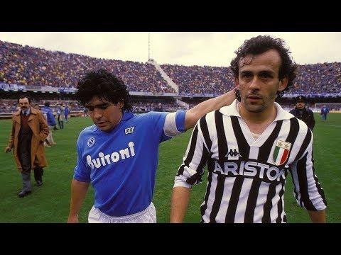 Michel Platini Vs Maradona 1986 – Juventus x Napoli