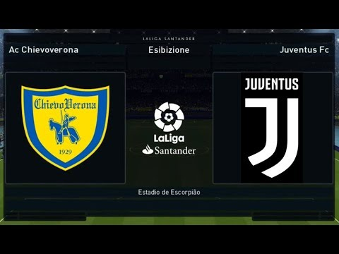 Chievo vs Juventus – 22°Giornata [1080p/60FPS] | PES 2018 HELLAS PATCH v1.00