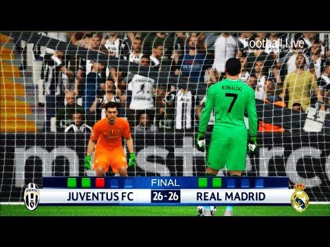 PES 2017 | goalkeeper DYBALA vs goalkeeper C.RONALDO | Penalty Shootout | Juventus vs Real Madrid