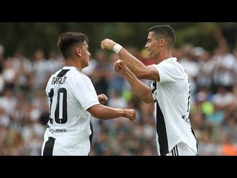Juventus VS Juventus B (5-0) goals and highlights 2018 -Ronaldo,  dybala goal