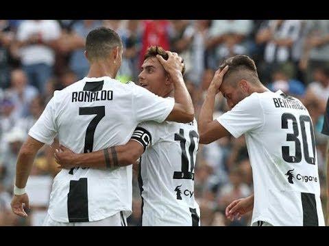 Cristiano Ronaldo [Debut Goal]  Juventus Vs Juventus B (Match) 2018