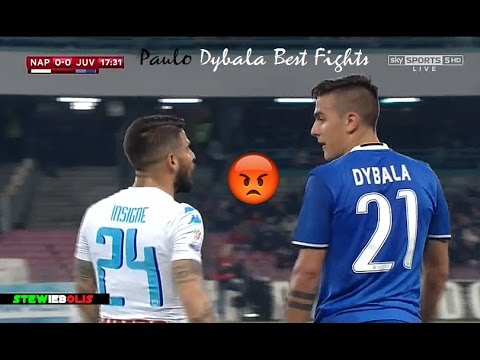 Paulo Dybala ● Best Fights & Angry Moments Ever! ● 1080i HD #Dybala #Juventus