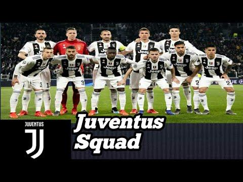 JUVENTUS Squad 2019 – 2020