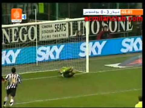 ][ Week 10 ][ Milan – Juventus ][ 2005-2006 ][ Pirlo Goal ][