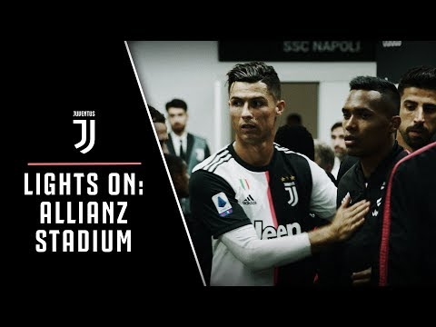 LIGHTS ON | Allianz Stadium: Juventus-Napoli behind the scenes