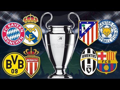 SORTEO CHAMPIONS | Bayern Munich vs Real Madrid | Juventus vs FC Barcelona