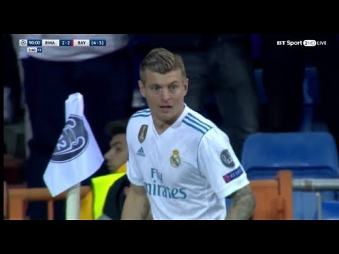 Toni Kroos vs Bayern Munich (01-05-2018) Home