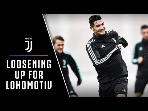 CRISTIANO RONALDO TALKS CHAMPIONS LEAGUE | THE EVE OF JUVENTUS-LOKOMOTIV MOSCOW