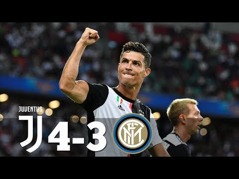 RONALDO SAVIOR: Juventus vs Inter Milan 1-1 (4-3 pen) Highlights & Goals 2019 HD