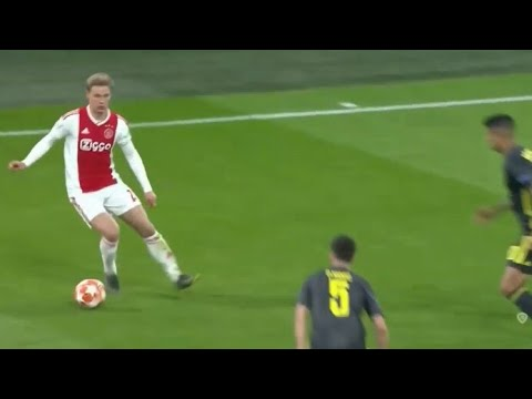 Frenkie de Jong vs Juventus (Home) 10/04/2019 | HD