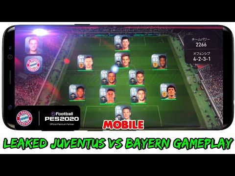 PES 20 MOBILE BETA Gameplay (Juventus vs Bayern Munich) & Leaked Photos!