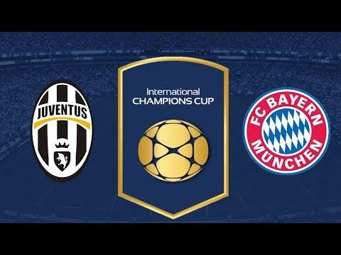 Juventus vs Bayern Munich – International Champions Cup 2018 | Game Play