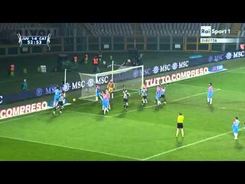 Coppa Italia Juventus – Catania 2-0 13 Gennaio 2010