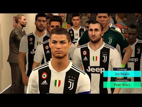 CHIEVO vs JUVENTUS | Ronaldo Scored 2 Goals | Serie A 2018 Gameplay