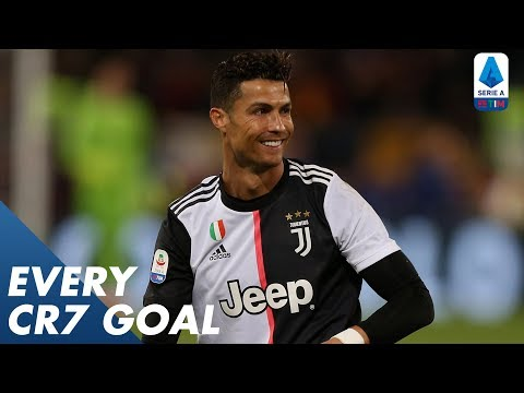 Cristiano Ronaldo, ALL of his goals at Juventus | Serie A