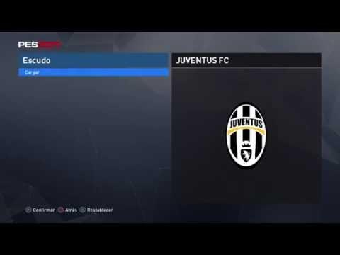 Editando escudos Liga Italiana Serie A PES 2017 JUVENTUS + link