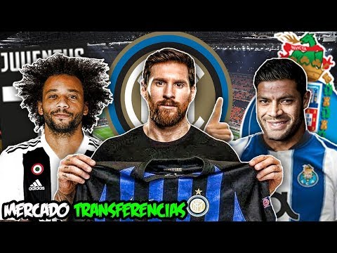 20 TRANSFERÊNCIAS CONFIRMADAS | RUMORES – MESSI NA INTER , HULK NO FC PORTO , MARCELO NA JUVENTUS