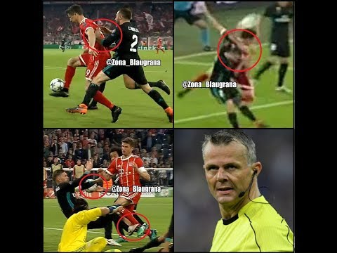Three penalties for Bayern vs Real – referee mistakes