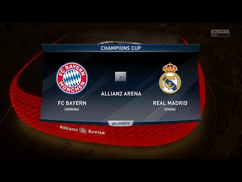 FIFA 18 Predict: BAYERN MUNICH VS REAL MADRID FC |Semi Final Champions League 2018| by Pirelli7