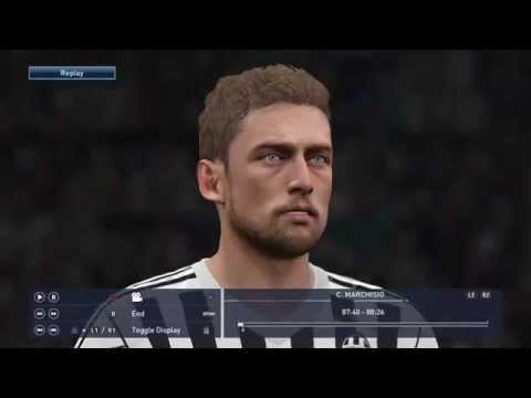 PES 2016 DEMO Faces Juventus F.C Full Roster