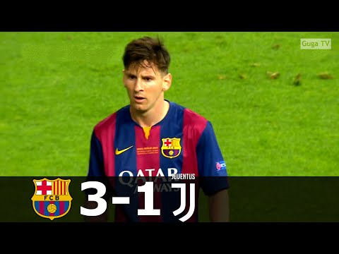 Barcelona vs Juventus 3-1 – UCL  Final 2015