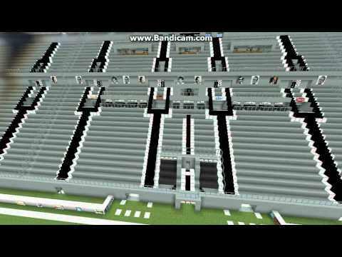 Juventus Stadium su Minecraft + DOWNLOAD!