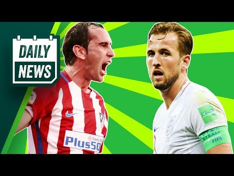 TRANSFERS and WORLD CUP NEWS: England are GOING HOME, Godin to Juventus + Fekir to Liverpool