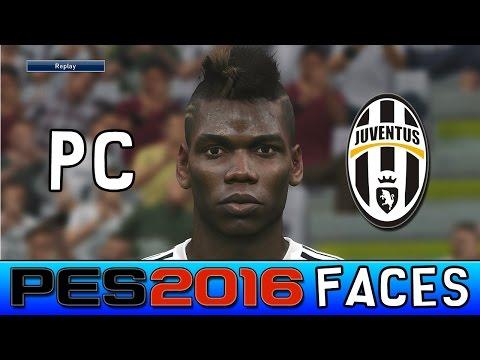 Juventus |  Pro Evolution Soccer 2016 Faces (PC Version)