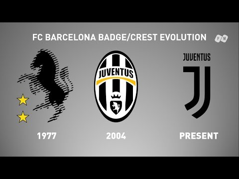 All Juventus FC Logo Evolution from 1977