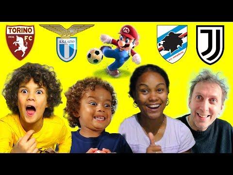 Genitori vs Figli, Doppia Sfida TORINO vs LAZIO e SAMPDORIA vs JUVENTUS *Mario Sonic Calcio*