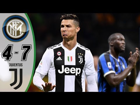 Inter Milan vs Juventus 4-7 – Highlights & Goals Resumen & Goles (Last Matches) HD