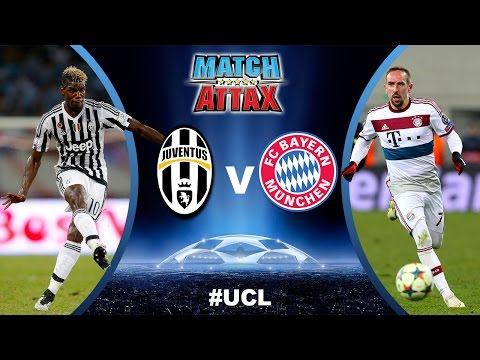 BATTLE #2 ⚽️ UCL Play-off round of 16 – Juventus VS Bayern Munchen ⚽️ Match Attax | 23.02.2016