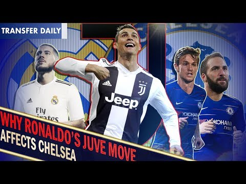 OFFICIAL: RONALDO SIGNS FOR JUVENTUS!    What does this mean for Hazard?    Chelsea Transfer Daily